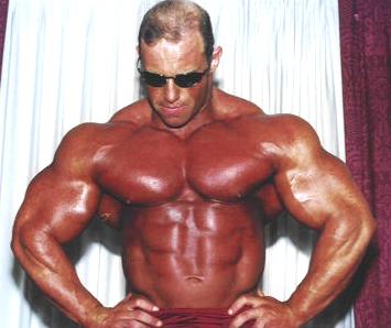 Bodybuilder Brad Hollibaugh