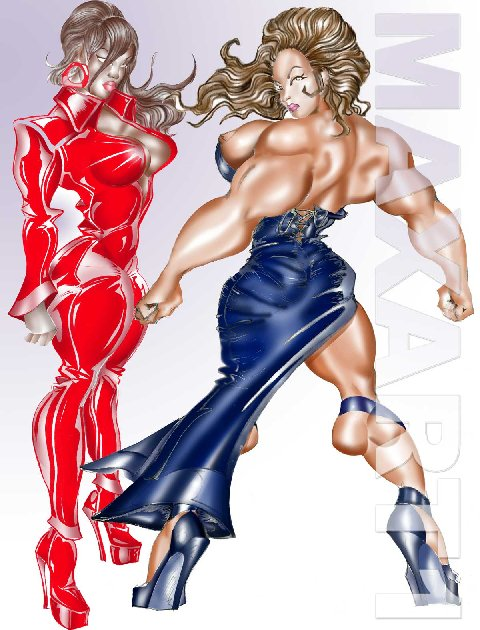 female bodybuilding art